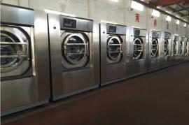 全自动工业洗衣机大型100公斤大容量宾馆酒店布草毛巾清洗设备
