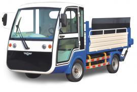 四轮电动环卫车 8桶带门小区保洁环卫小型垃圾清运车