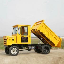 运输四轮车25马力 农用 拖拉机 矿用 工程 自卸车四不像