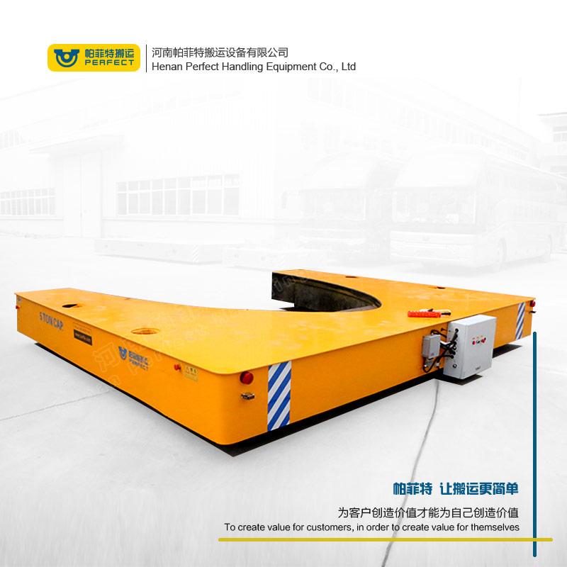 36吨钢卷搬运车 定制燕尾式轨道车