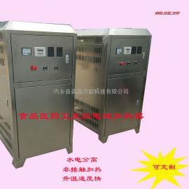 药品制济纯水循环加热器/制药厂注射用水保温电磁加热机