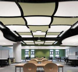 精装吊顶天花板吸音岩棉玻纤板 屹晟建材 岩棉吸声板