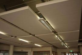 写字楼用 岩棉玻纤天花板 跌级板 屹晟建材吸声板