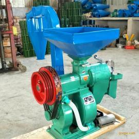 建达牌双风道碾米机 高产量新型稻谷加工设备