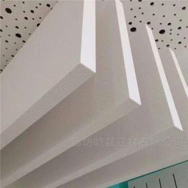 新型彩色岩棉吸音体玻纤天花吊顶建材 屹晟建材 岩棉玻纤吸声板