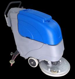 手推式工业洗地机SJ1-B510|60工厂食堂用洗地吸干机