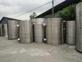 家用生活不锈钢水箱 圆形承压保温不锈水箱 工业水箱