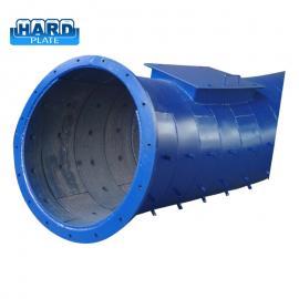 水泥厂耐磨钢管堆焊耐磨管道