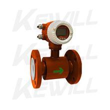 KEWILL污水电磁流量计泥浆矿浆流量计