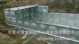 地埋水箱BDF复合板 抗浮式消防水箱尺寸定做