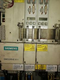 西门子802D(轴驱动器及功率模块坏)当天能修复