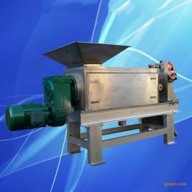厨余垃圾脱水减量系统锯末压榨脱水甜菜压榨机大颗粒物料压榨机