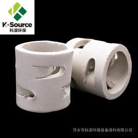 科源环保供应25mm 38mm陶瓷鲍尔环 可加工定制