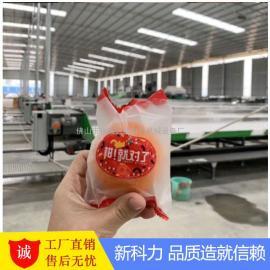 新科力供东海爆橘自动包装机,武鸣沃柑自动套袋机 沃柑包装机
