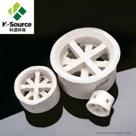 科源环保 供应25mm 38mm陶瓷阶梯环填料 可加工定制