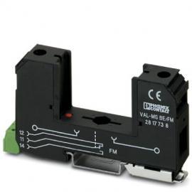 菲尼克斯2类电涌保护基座 - VAL-MS BE/FM - 2817738