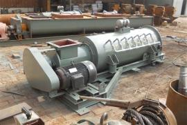 沥青搅拌站专用粉尘加湿机干粉煤灰:SJ40/60