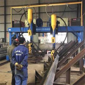 龙门式H型钢焊接机非标定制 皇泰龙门焊质量放心