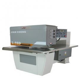 建晟小巧经济型木皮拼缝机S-980无缝对拼新选择