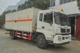 8类腐蚀性物品厢式运输车 专拉氨水运输车
