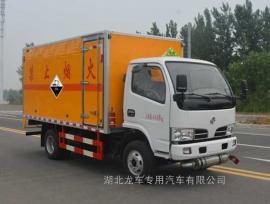 东风4米1腐蚀性物品厢式运输车 安全可靠