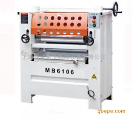 高档木皮单面聚氨酯辊涂胶机MB1106有售