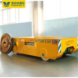 机械运输设备 大吨位流水线轨道搬运平车定制