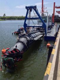 水库清淤环保绞吸船 8寸泵挖泥船输送距离1500米