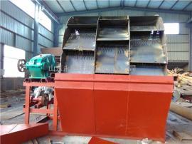 大型三排轮斗洗砂机 水轮式洗沙机 砂石黄泥土沙洗砂机设备
