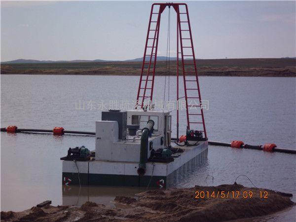 柬埔寨500方抽沙船 500方射流式抽沙船采砂深度30米