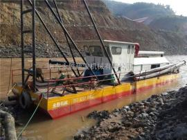 出口缅甸150方射流式抽沙船 150方抽沙船输送距离多远