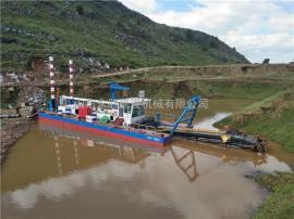 300方分体式挖泥船 永胜300方河道清淤绞吸式挖泥船