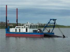 永胜订做小型绞泥船,6寸泵挖泥船配合脱水设备清淤