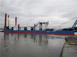 二手10寸泵挖泥船 200方绞吸式挖泥船现货适用河道清淤泥