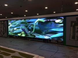 婚庆大厅LED彩色显示大屏幕背景墙制作贴墙安装造价