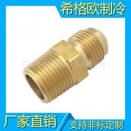 黄铜双接头异径接头 铜索母
