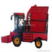 大型轮式青储饲料青贮机 青储玉米机