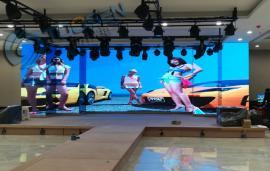 搭建舞台p4.81LED全彩电子大屏幕可以达到2K或4K分辨率/㎡多少钱