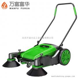 工厂工业扫地机 手推式无动力 道路粉尘清扫车