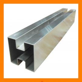 冷镀锌凹槽管尺寸-凹形管型号规格