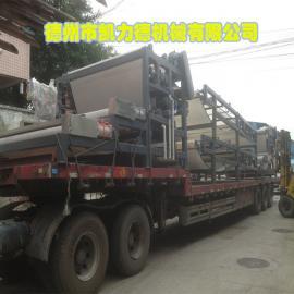 可定制矿山泥浆脱水干排设备 脱水工作量大的带式污泥脱水机
