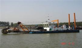 小型拼装斗轮式挖泥船 小型斗轮式挖泥船清水流量