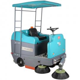 凯叻KL1400BP驾驶式扫地机加蓬物业街道体育场广场扫垃圾车