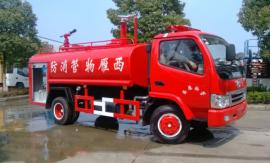 东风国六5方消防洒水车报价