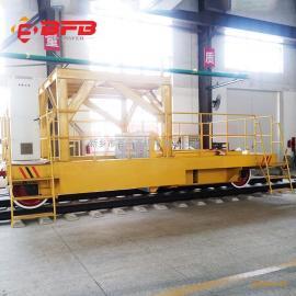 25吨搬运钢板构件平板车30吨火车头轨道牵引车优惠价