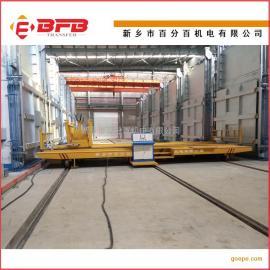 活络式电动地轨车 钢丝绳牵引式轨道平板车
