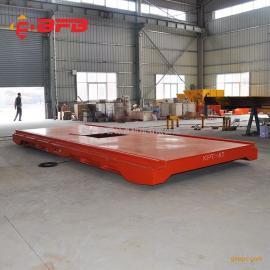 拖缆75吨电动平板车特点 重载电动平板车