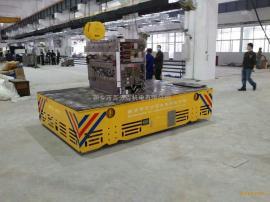 带卡布卷无轨运输车石化行业蓄电池轨道平车卷线式电动平车