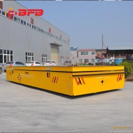 10吨无轨道搬运车51吨电动平板运输车