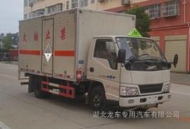 江铃3米1腐蚀性物品厢式运输车